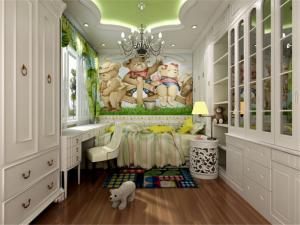 复古美式儿童房