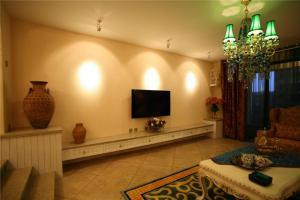 家装美式电视柜