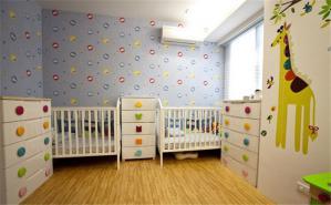 双人儿童房布置 - 维意定制家具网上商城