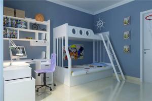 白色儿童房颜色