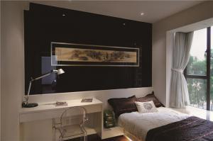 简欧飘窗卧室设计图片