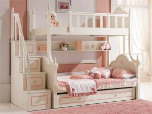 欧式儿童家具上下床