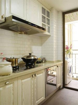 欧式阳台改厨房效果图