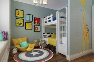 童趣儿童房设计上下床