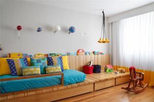 儿童房窗帘效果图欣赏
