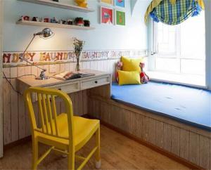 美式儿童房榻榻米设计