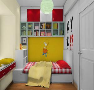 女生儿童房榻榻米设计