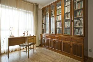 中国风格立式书柜