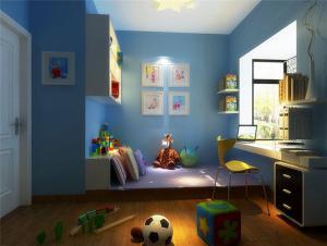 梦幻儿童房榻榻米设计
