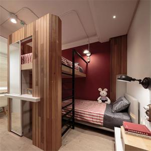 上下床儿童房设计与装修