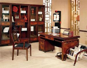 中式立式书柜
