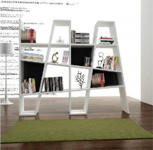 现代风格创意书柜