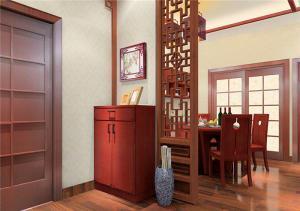 公寓美式鞋柜图片