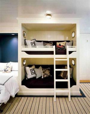 双人上下床装修设计