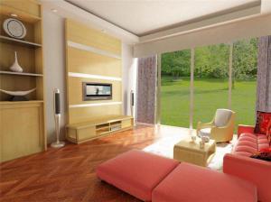 现代房间电视柜