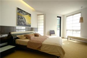 实木欧式卧室装修图片