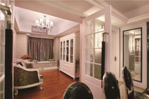美式飘窗卧室设计