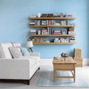 创意小户型客厅书柜