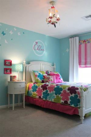清新色调儿童房设计与装修