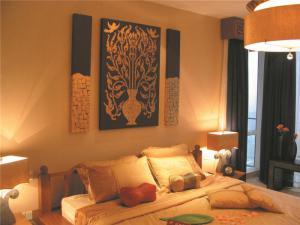 欧式奢华小卧室装修案例图