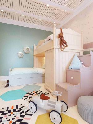 北欧双人儿童房
