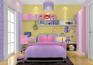 梦幻女孩儿童房