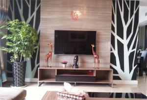 烤漆电视柜风格