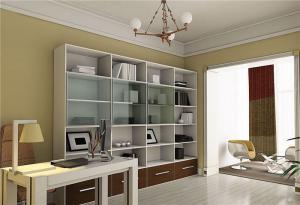 板式家具立式书柜