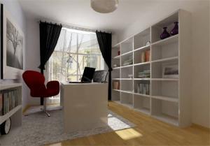 精致的立式书柜