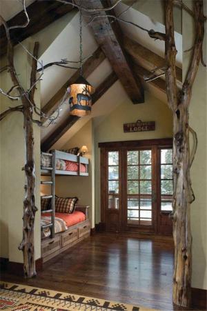 古朴风创意儿童房