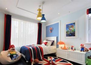 儿童房吊顶效果图设计