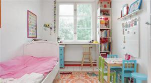 素白硅藻泥儿童房效果图