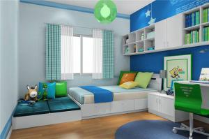 儿童房装修效果图男孩家具