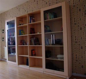带门立式书柜