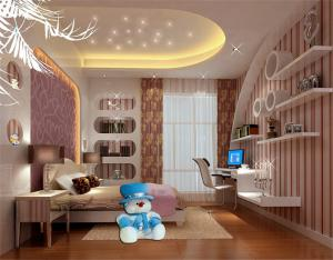 精致美式儿童房