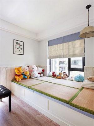 日式儿童房榻榻米设计