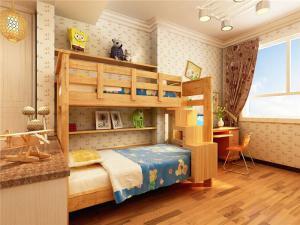 上下床小空间儿童房设计