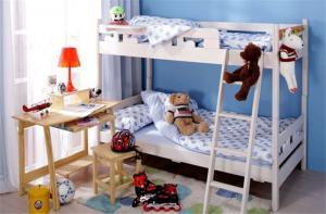 家居儿童房双层床效果图