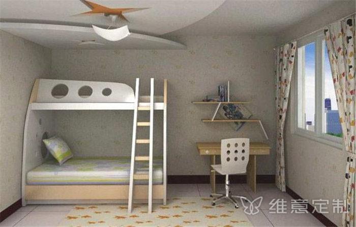 家居�P室上下床�b修效果�D