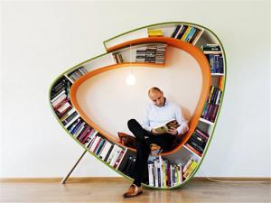异形创意书柜