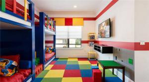 多彩儿童房颜色