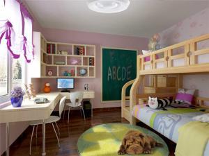 时尚小空间儿童房设计