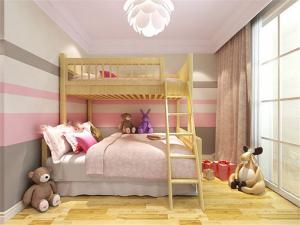儿童房设计上下床效果图