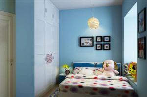 儿童房家装样板间效果图