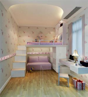 现代小空间儿童房设计