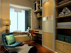 家居实用卧室转角书桌加衣