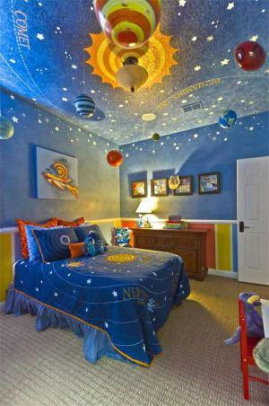 星空创意儿童房