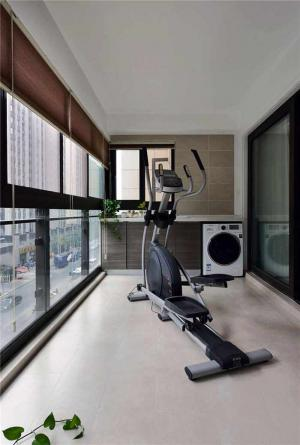 健身房阳台改造效果图