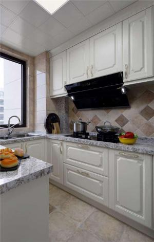 欧式小厨房橱柜