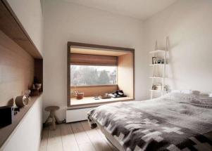 最新小阳台改卧室效果图